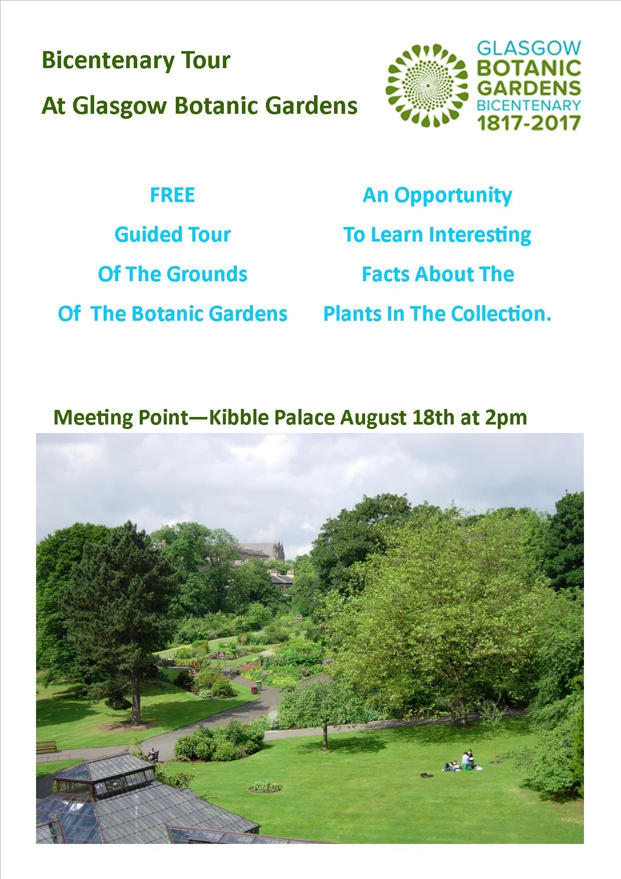 glasgow botanic gardens news