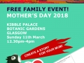 Botanics Mothers Day Flyer